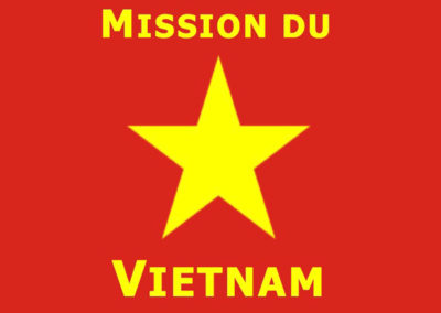 MISSION DU VIETNAM – GRAND SACONNEX